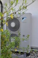 Luft/Wasser Wärmepumpe- Außeneinheit
