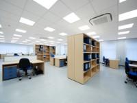 Gewerbliche Klimatisierung- Großraumbüro