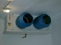 Verdampfer(Luftkühler) in Tiefkühlzelle -35°C